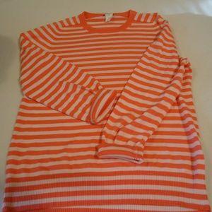 J Crew Cotton Sweater, Sz Medium, EUC